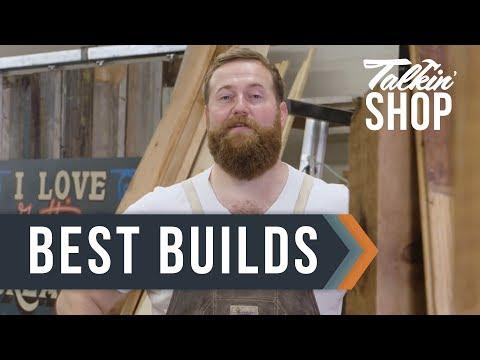 Ben Napier's Best Woodworking Projects - Talkin' Shop - HGTV