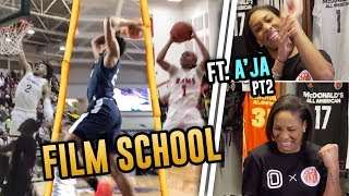 Zia Cooke, Vernon Carey & More Get Broken Down By A'ja Wilson! McDonald's All Americans Are TOUGH!