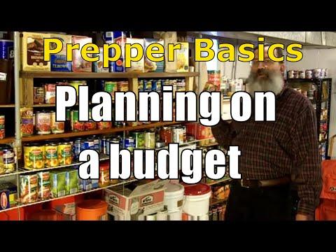 Prepper Basics: Planning on a Budget