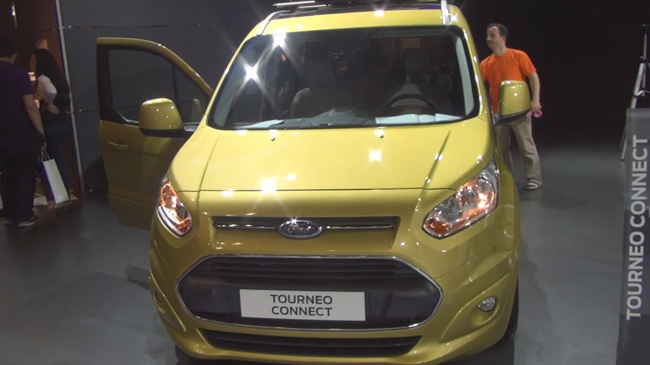 Ford Tourneo Connect Anium 1 6l Tdci 115 Ps 2017 Exterior And Interior In
