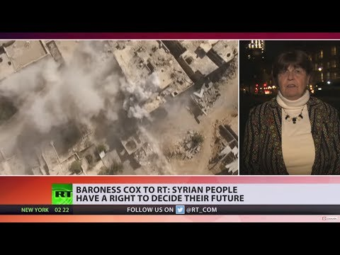 Baroness Cox to RT: There's prejudice in UK media over Syria coverage