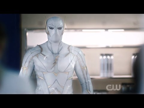 The Flash 5x18 Nora gets attacked by Godspeed