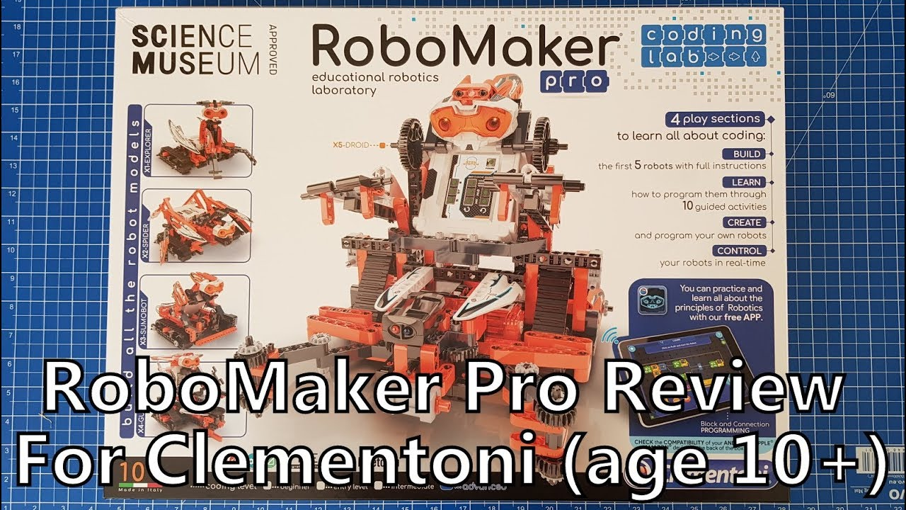 d420c241fdfc RoboMaker Pro Review for Clementoni (sent for review) - YouTube