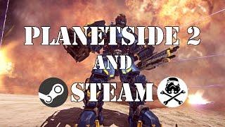 как установить Planetside 2 в Steam