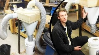 Make A Cyclone Dust Separator - The Top Hat (part 1 Of 3) (home Made Cyclone)
