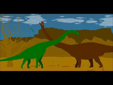 PPBA Argentinosaurus vs Brachiosaurus
