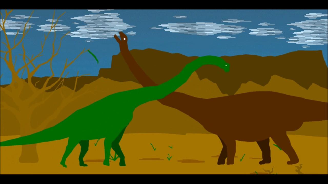 PPBA Argentinosaurus vs Brachiosaurus - YouTube