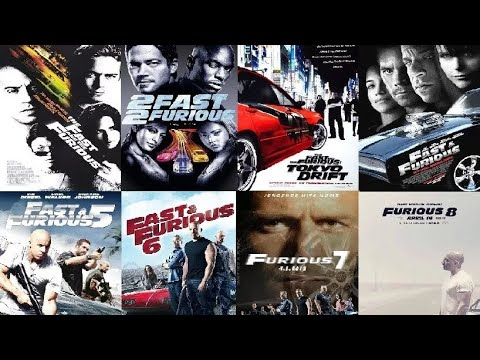 The Fast And Furious (1-8) All Parts In...