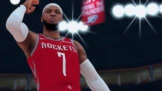 Melo Helps OKC Win | NBA 2K19