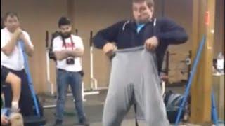 "Dmitry Klokov - ""high pull & wear pants - same movement"""