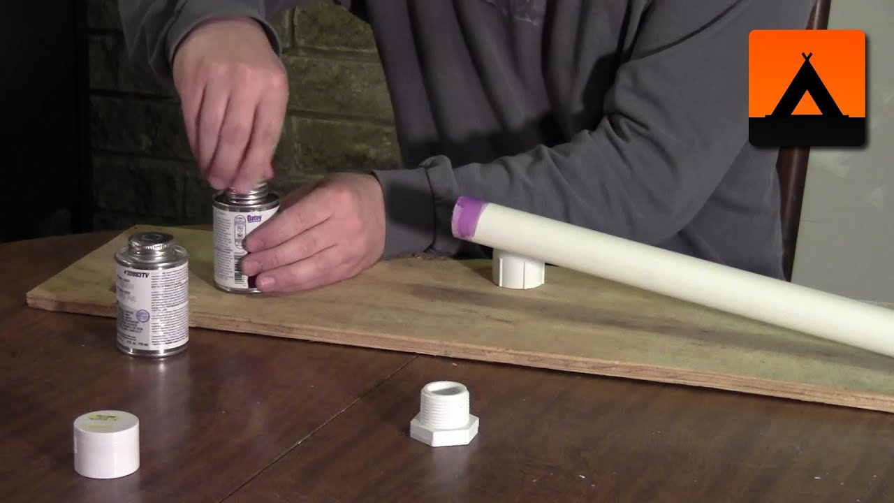 How to make a hiking stick from a PVC pipe  YouTube