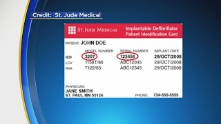 St. Jude Issues Medical Advisory For Heart Defibrillators