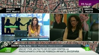 """Marta Arias: """"La pobreza infantil en España es grave desde antes de la crisis"""""""