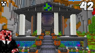I Made a GIĄNT Aquarium!   Let's Play Minecraft Survival