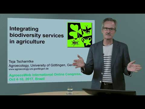 Integrating Biodiversity Services In Agriculture