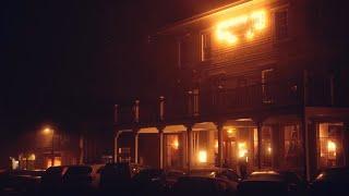 Foggy Night in Mendocino