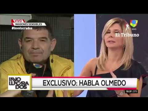 """Olmedo habló tras el accidente: """"Tengo dudas si el choque no fue intencional"""""""