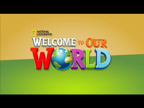 Introducing Welcome to Our World, American English!