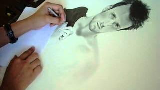 Chris Evans speed drawing
