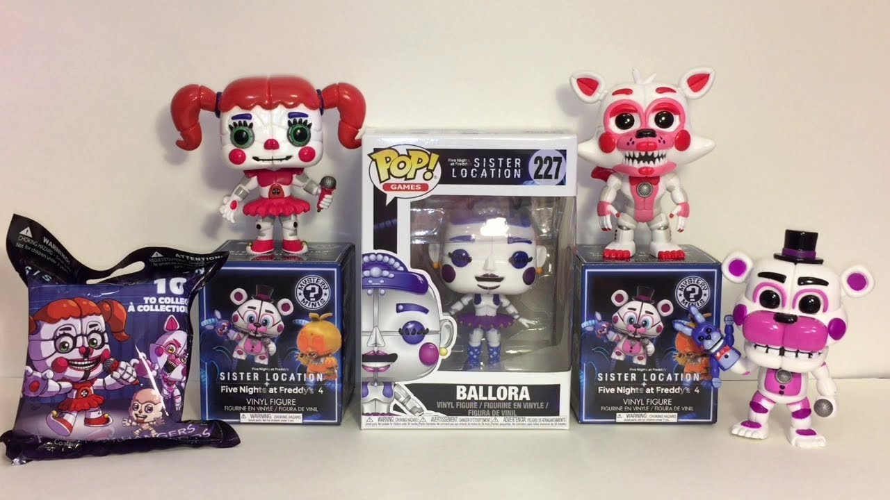 Sister Location Ballora Funko Pop Five Nights At Freddy S