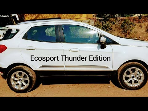 MotorMenz Exclusive || 2019 Ford Ecosport Thunder Edition In Images