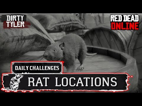 Rat Locations Red Dead Online RDR2