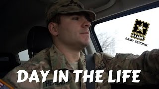 DAY IN THE LIFE OF AN ARMY SOLDIER