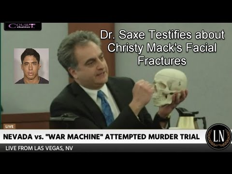 War Machine Trial Day 6 Part 2 (Dr. Steven Saxe, Dentist Testifies) 03/13/17