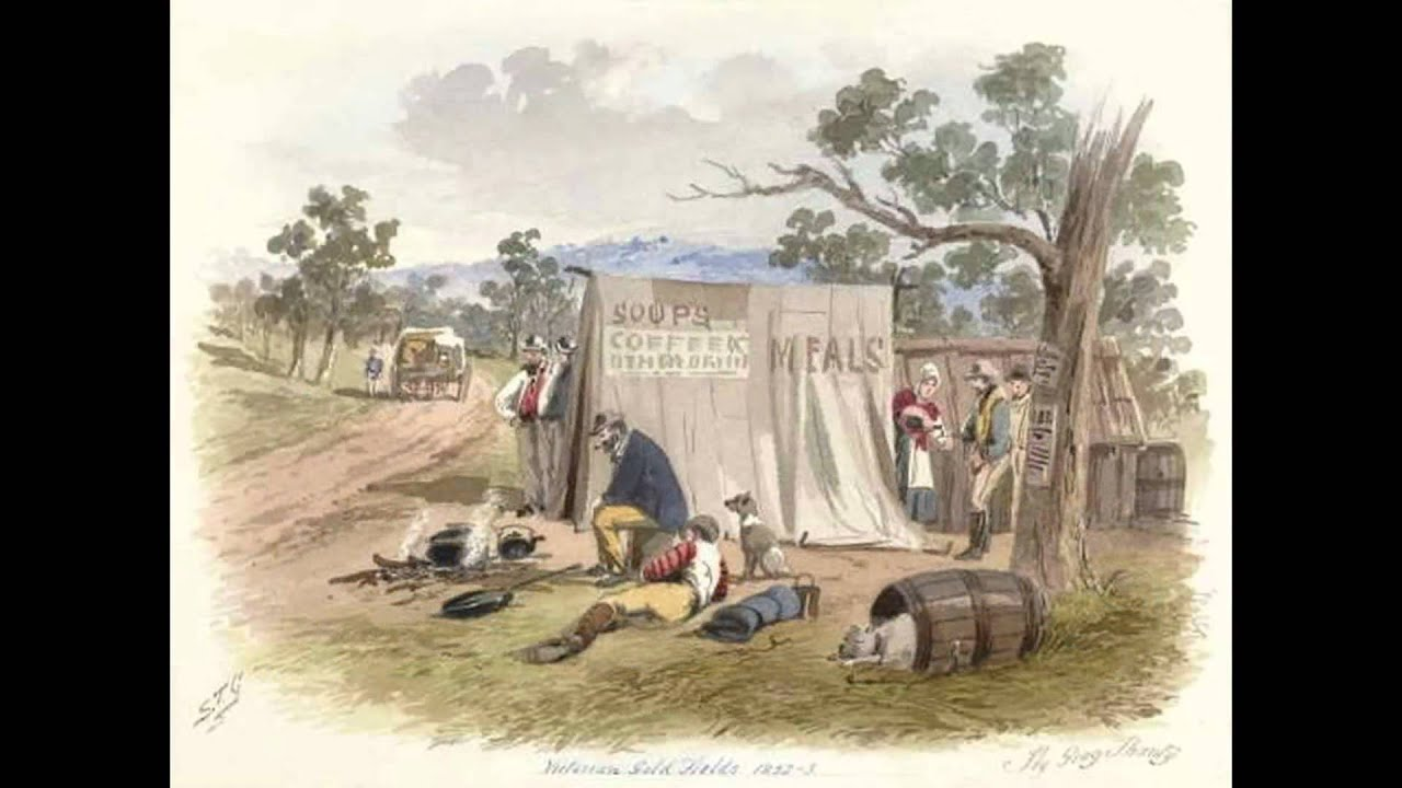 Gold Rush in Australia: About life on the goldfields from