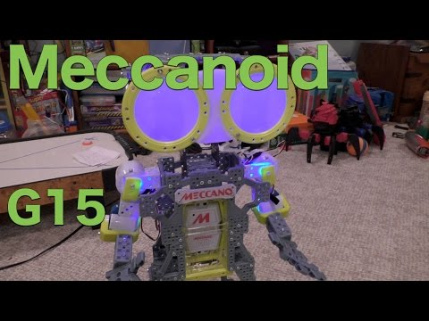 Meccanoid G15 Personal Robot Full Review, The Meccano Maker System