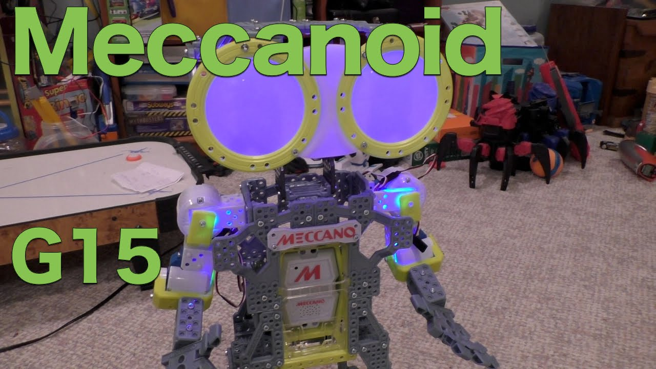 Meccanoid G15 Personal Robot Full Review The Meccano Maker System Youtube