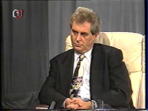 Nedělní debata po volbách - 1996 - Václav Klaus, Miloš Zeman, Jan Kalvoda, Josef Lux, M.Grebeníček