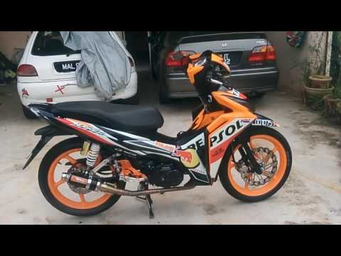HONDA WAVE DASH 110 REPSOL MODIFIED RacingBoy CJ Ipoh