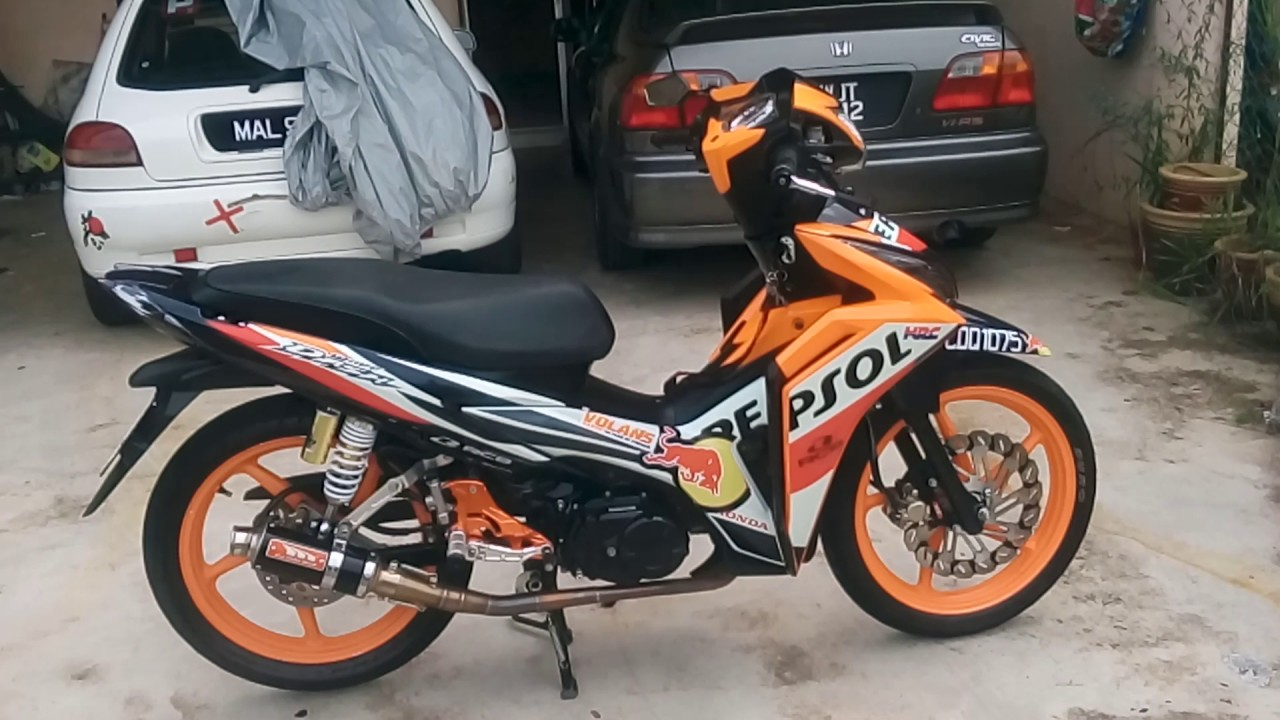HONDA WAVE DASH 110 REPSOL MODIFIED RacingBoy CJ Ipoh