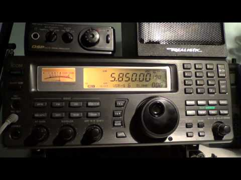 Radio Slovakia via WRMI 5850 Khz at 0030 UT on Shortwave