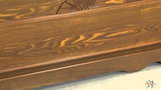 Laurel Cedar Hope Chest - Oak Finish - Product Review Video