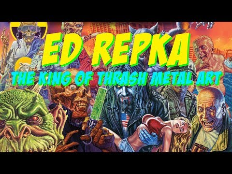 Ed Repka - King of Thrash Metal Artwork