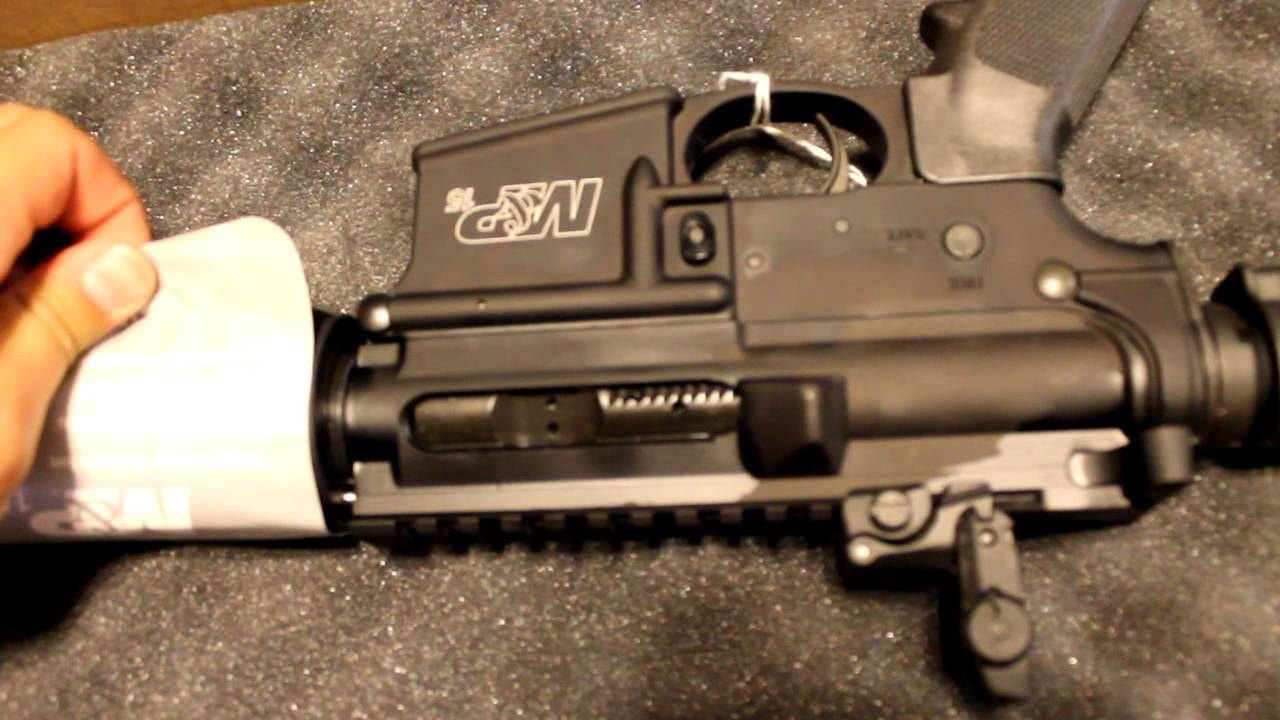 Smith And Wesson 12039 Unboxing: Smith & Wesson M&P 15 Unboxing