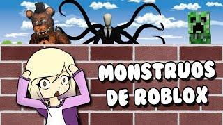 WIR BUILD ZU SURVIVE ROBLOX'S MONSTERS Roblox auf Spanisch