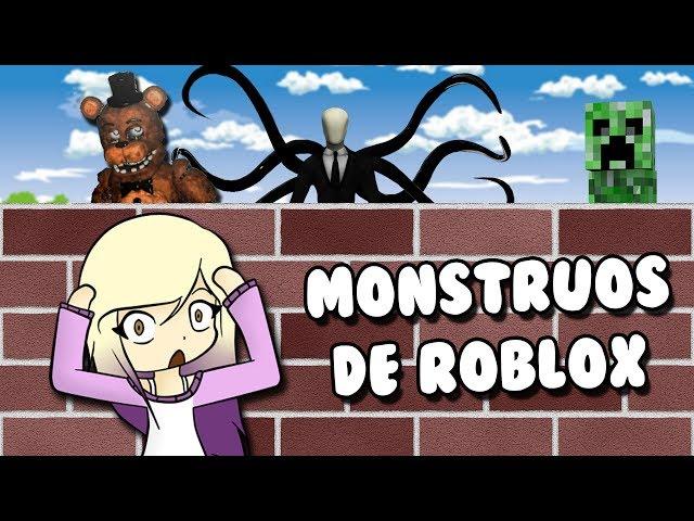 CONSTRUIMOS PARA SOBREVIVIR A LOS MONSTRUOS DE ROBLOX   Roblox en español