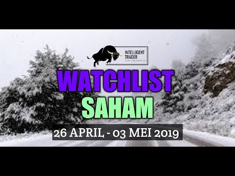 Analisa Saham (Periode 26 April - 03 Mei 2019)