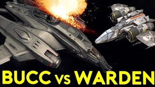 BUCCANEER vs WARDEN | Star Citizen Alpha 2.6.3 | Part 405 (Star Citizen 2017 PC Gameplay)