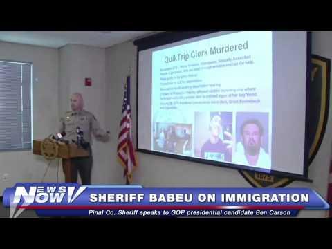 FNN: Ben Carson Talks Border Control and Tours Arizona Border with Sheriff Paul Babeu