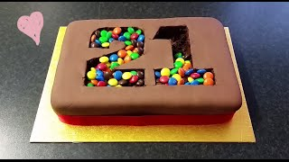 """M&M Madness!"" Birthday Cake"