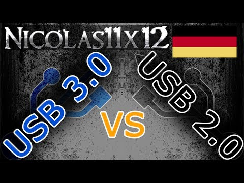 [DEUTSCH] USB 3.0 vs USB 2.0