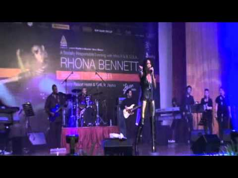 Rhona Bennett-Don't Let Go-Live In Malaysia