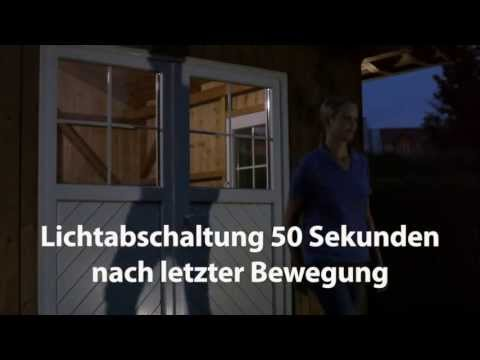 dehner esotec solar lichtsystem f r das gartenhaus youtube. Black Bedroom Furniture Sets. Home Design Ideas