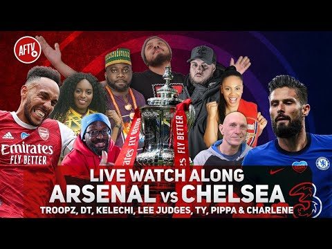 Arsenal vs Chelsea | FA Cup Final Live Watch Along