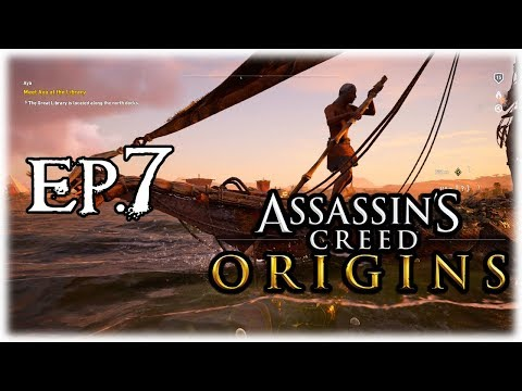 Assassin's Creed Origins Ep.7 | Alexandria Exploration done! [AC Origins PS4 Gameplay + Commentary]