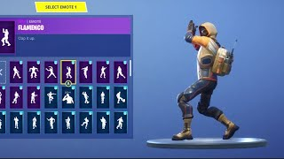 "*New* ""Summit Striker"" Starter pack skin showcase! With 20+ Emotes/Dances (Fortnite)"